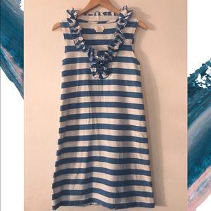 Kate Spade 💙  Dress with ruffles around neckline